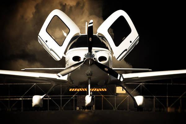 Kimberley Airport Photograph - Doors Open by Paul Job