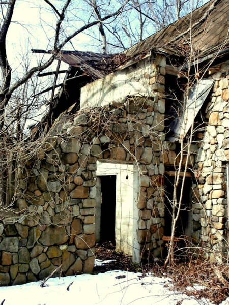 Crumble Photograph - Doorway Back Through Time by Janine Riley