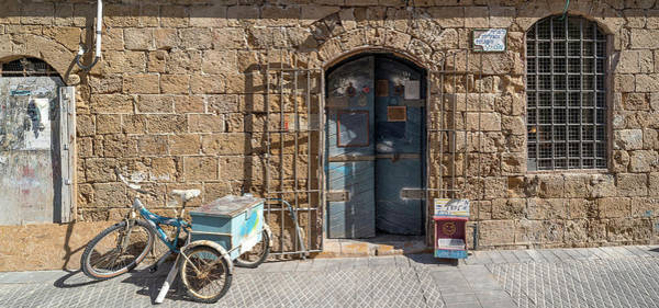 Jaffa Photograph - Doorway Of A Building, Jaffa, Tel Aviv by Panoramic Images