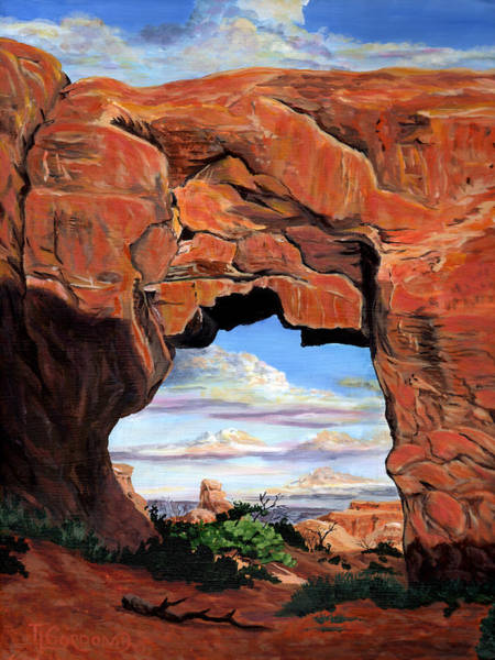 Wall Art - Painting - Doorway To Enchantment by Timithy L Gordon