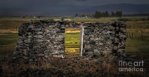 Door To Door Photograph - Doorway To The Past by Mitch Shindelbower