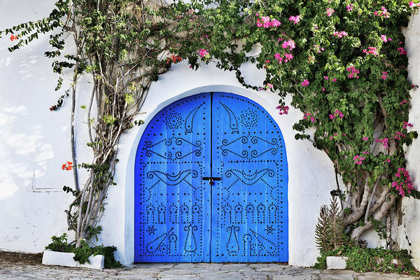 Tunisia Wall Art - Photograph - Doorway by Yoshio Tomii