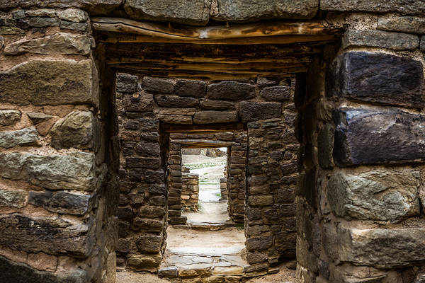Photograph - Aztec Ruins - Doorways Into The Past by Ron Pate