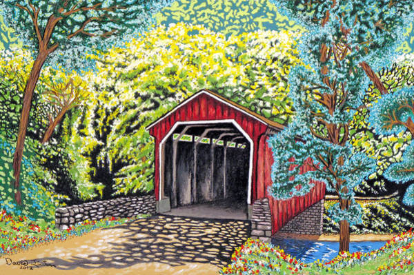 Endless Love Painting - Doorways Of Nature by David Linton
