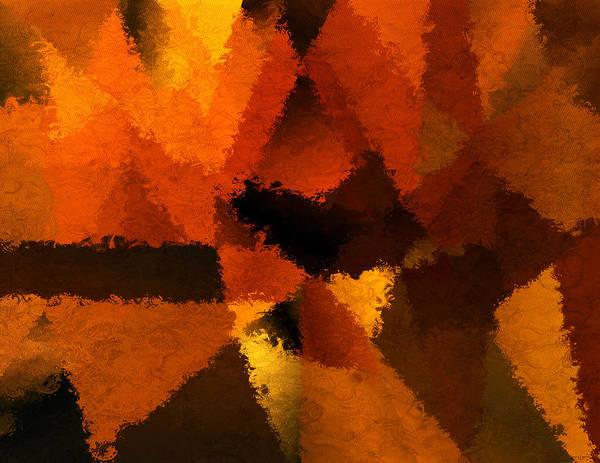 Autumn Colors Digital Art - D'or Memoire by Lourry Legarde