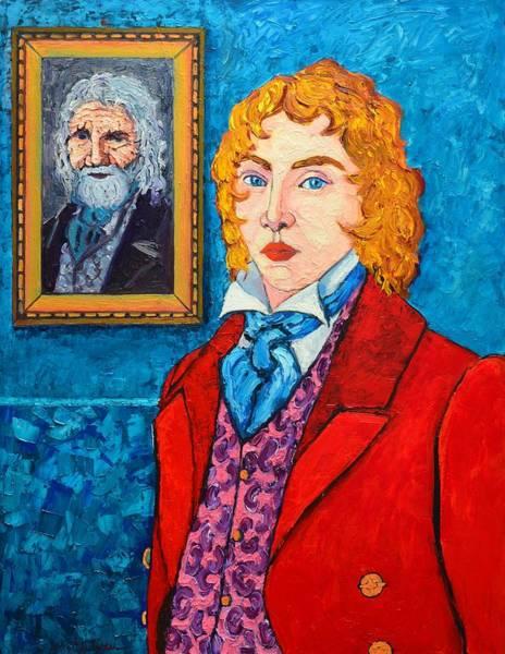 Painting - Dorian Gray by Ana Maria Edulescu