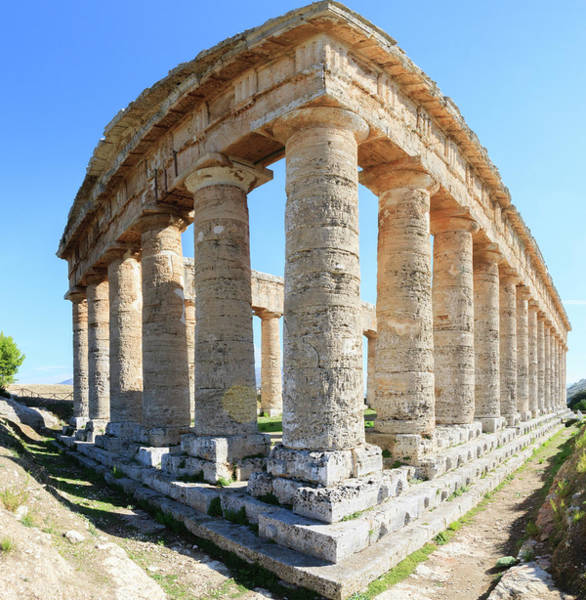 Wall Art - Photograph - Dorian Temple Of Segesta by Tom Norring