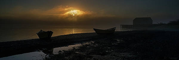 Wall Art - Photograph - Dories Beached In Lifting Fog by Marty Saccone