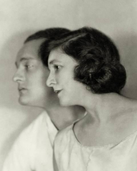 Photograph - Doris Keane And Basil Sydney by Nickolas Muray