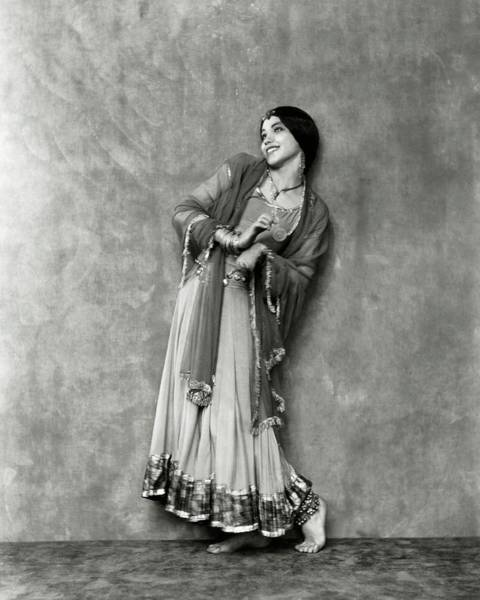 January 1st Photograph - Doris Niles As An Indian Woman by Nickolas Muray