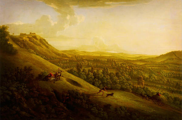 Painting - Dorking In The Distance by Celestial Images