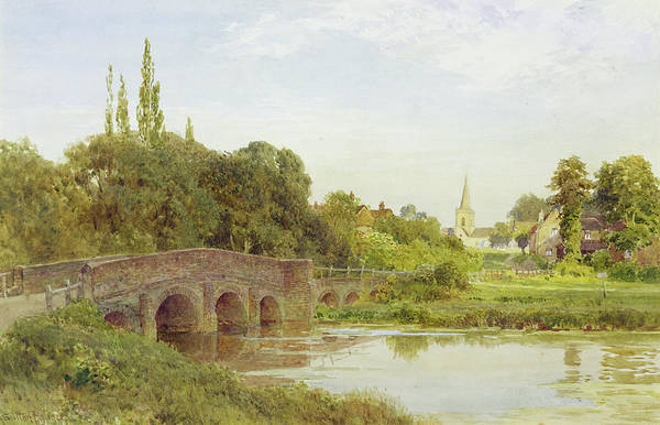 Wall Art - Painting - Dorking  by Henry Sutton Palmer