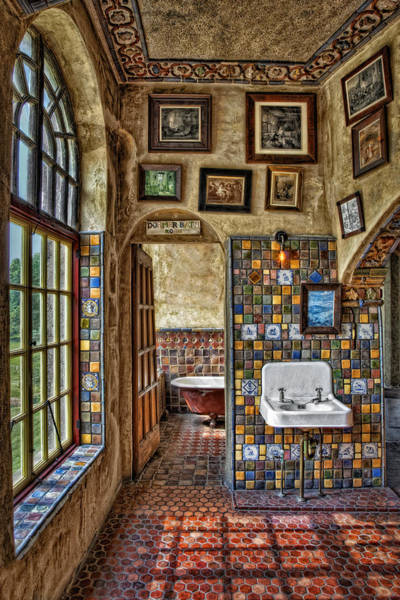 Photograph - Dormer Bath Room by Susan Candelario