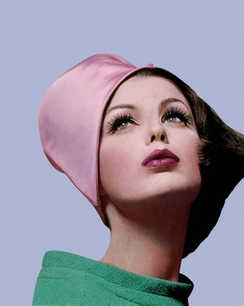 Green Photograph - Dorothea Mcgowan In A Cloche by Bert Stern