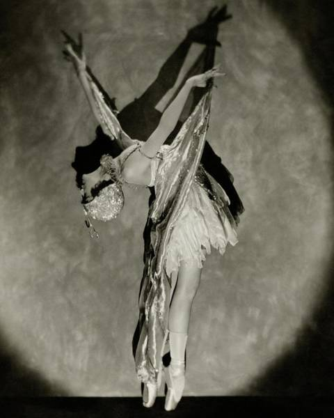 Photograph - Dorothy Dilley In The Butterfly Dance by Nickolas Muray