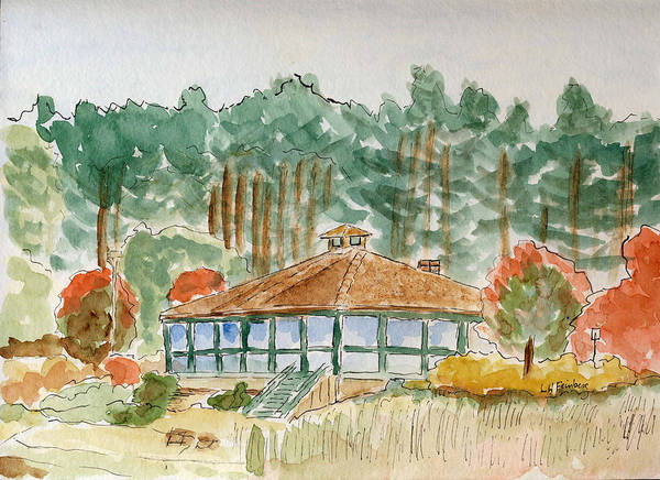 Painting - Dorrs Pondhouse by Linda Feinberg