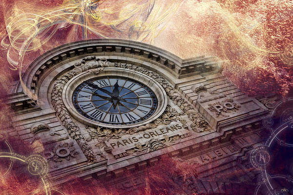 D'orsay Clock Paris Art Print