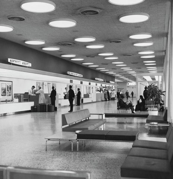 Wall Art - Photograph - Dorval International Airport by Underwood Archives