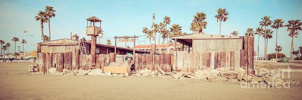 Wall Art - Photograph - Dory Fishing Fleet Market Newport Beach Panorama by Paul Velgos