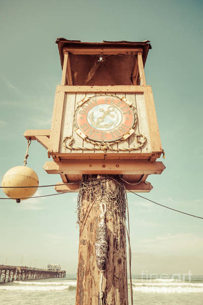 Crows Nest Wall Art - Photograph - Dory Fleet Newport Beach Retro Picture by Paul Velgos