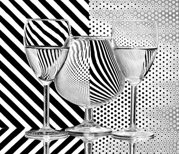 Zebra Pattern Photograph - Dots And Stripes by Aida Ianeva