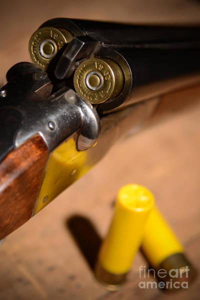 Wall Art - Photograph - Double Barrel Shotgun by Jt PhotoDesign