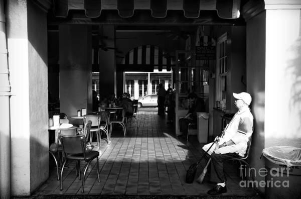 Photograph - Double Entry At Cafe Du Monde Mon by John Rizzuto