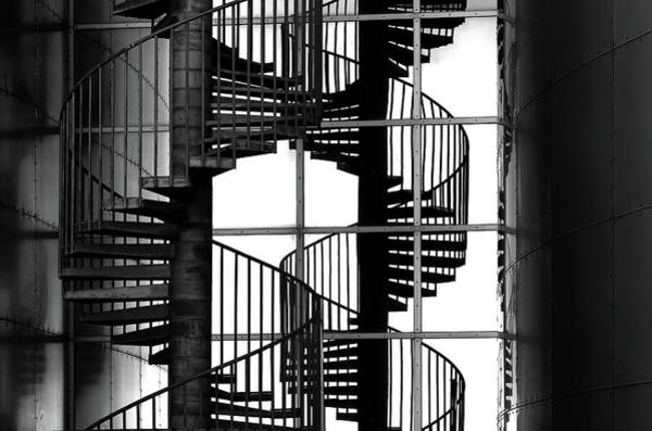 Double Helix Photograph - Double Mix by Hans-wolfgang Hawerkamp