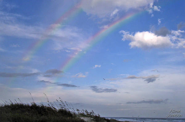 Photograph - Double Rainbow by Adam Johnson