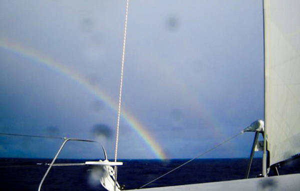 Photograph - Double Rainbow by Debbie Cundy