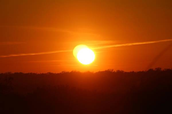 Photograph - Double Sunset Glow by Cynthia Guinn