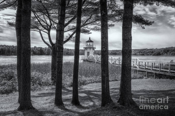 Photograph - Doubling Point Light II by Clarence Holmes