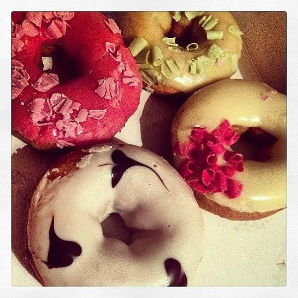 Wall Art - Photograph - Doughnuts by Marina Boitmane