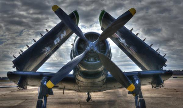 Douglas A1- E Skyraider Art Print