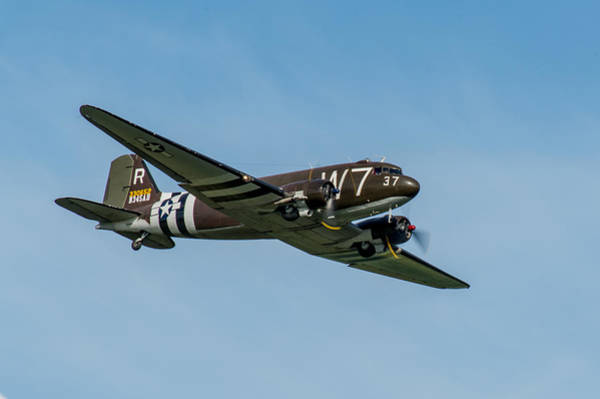 Photograph - Douglas C-47 Skytrain Whiskey 7 by Gary Eason