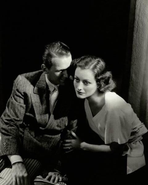 Photograph - Douglas Fairbanks Jr. And Joan Crawford by Edward Steichen