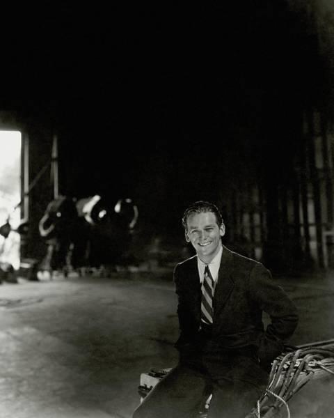 Photograph - Douglas Fairbanks Jr On A Film Set by Cecil Beaton