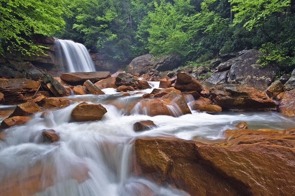 Joseph Photograph - Douglas Falls Spring Rush by Joseph Rossbach