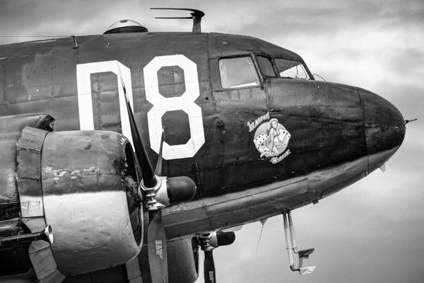 Photograph - Douglass C-47 Skytrain - Nose Section - Dakota by Gary Heller
