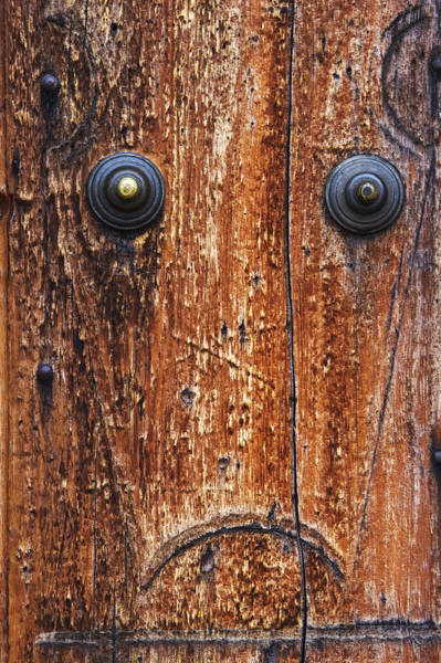 Anthropromorphic Photograph - Dour Door Denizen by Guy Shultz