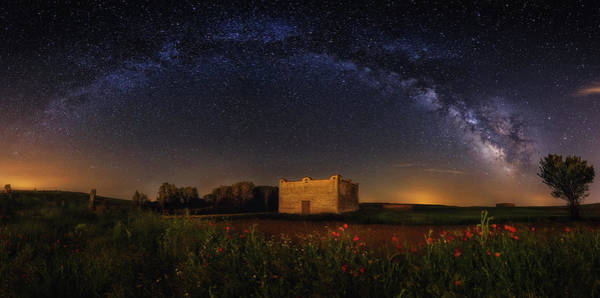 Milky Way Photograph - Dovecote by Glendor Diaz Suarez