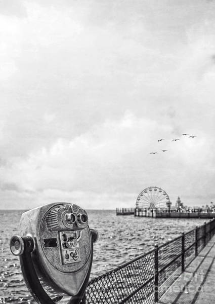 Photograph - Down At The Pier by Edward Fielding