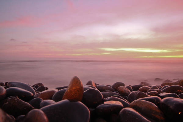 Lima Photograph - Down By Beach At Sunset by Geraint Rowland Photography