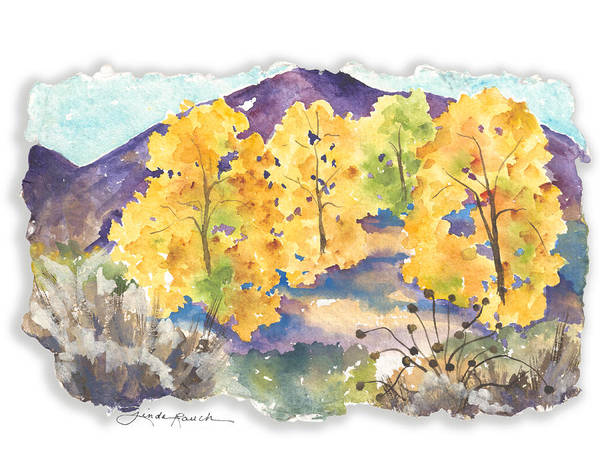 Painting - Down By The Riverside by Linda Rauch