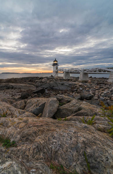 Marshall Point Lighthouse Photograph - Down East by Kristopher Schoenleber