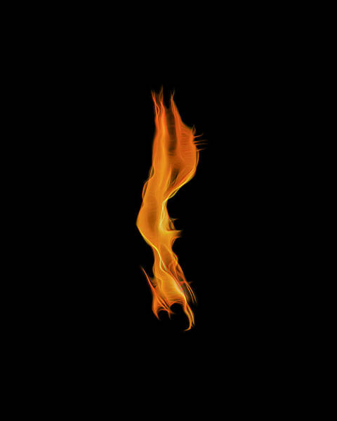 Photograph - Down In Flames by Wes Jimerson
