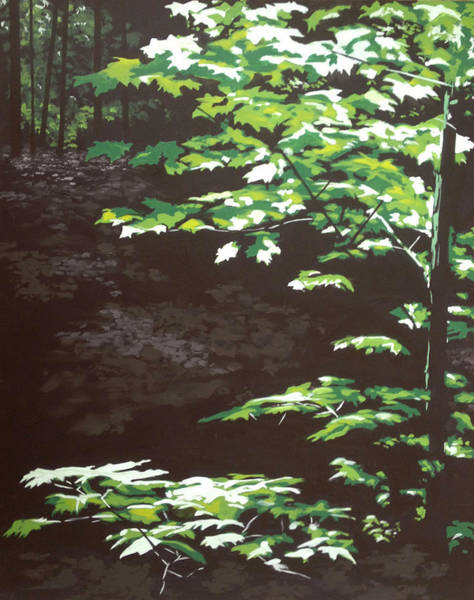 Dappled Light Painting - Down In The Holler by Jeffrey Bess