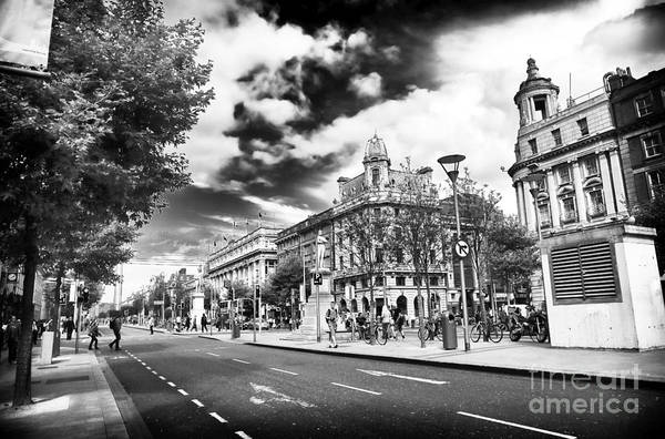 Wall Art - Photograph - Down O'connell Street by John Rizzuto