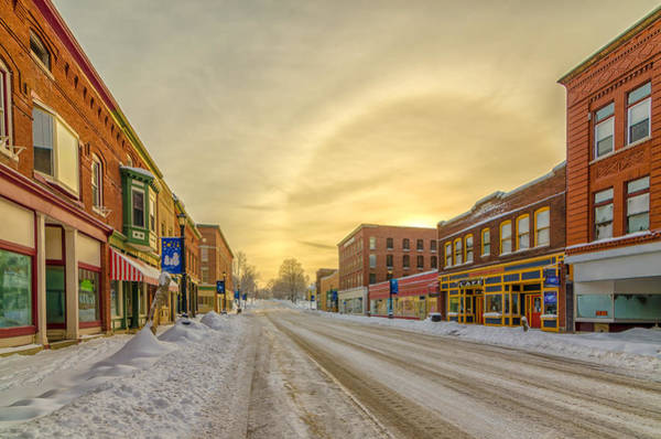 Houlton Photograph - Down On Main Street by Christopher Mills