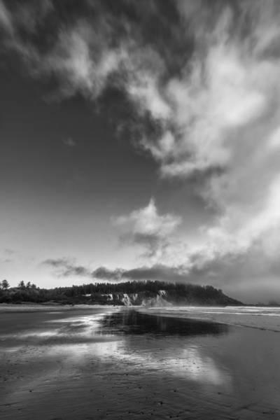 Photograph - Down The Beach by Jon Glaser